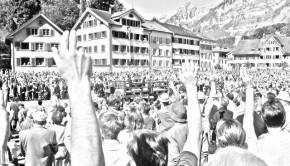 vot în Elveția