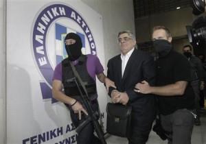 Liderul Golden Dawn în arest