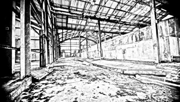 Interior de fabrica dezafectata