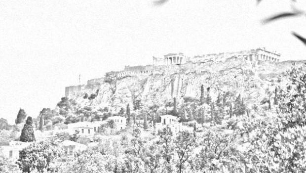 Acropole vazut de jos