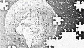 Puzzle glob pamantesc