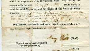 """Contract de """"închiriere"""" pentru un sclav"""